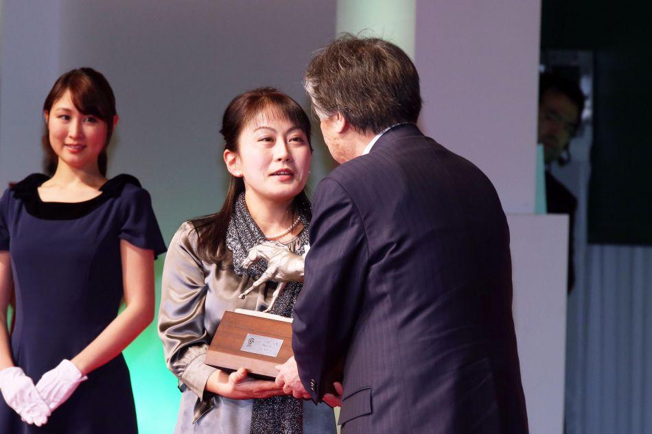 JRA馬事文化賞 授賞式 2016年1月25日