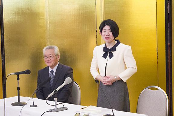三浦綾子記念文学館 新館長選出記者会見 2016年11月14日
