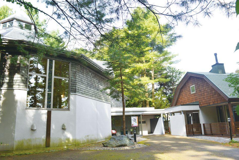 三浦綾子記念文学館 本館と分館