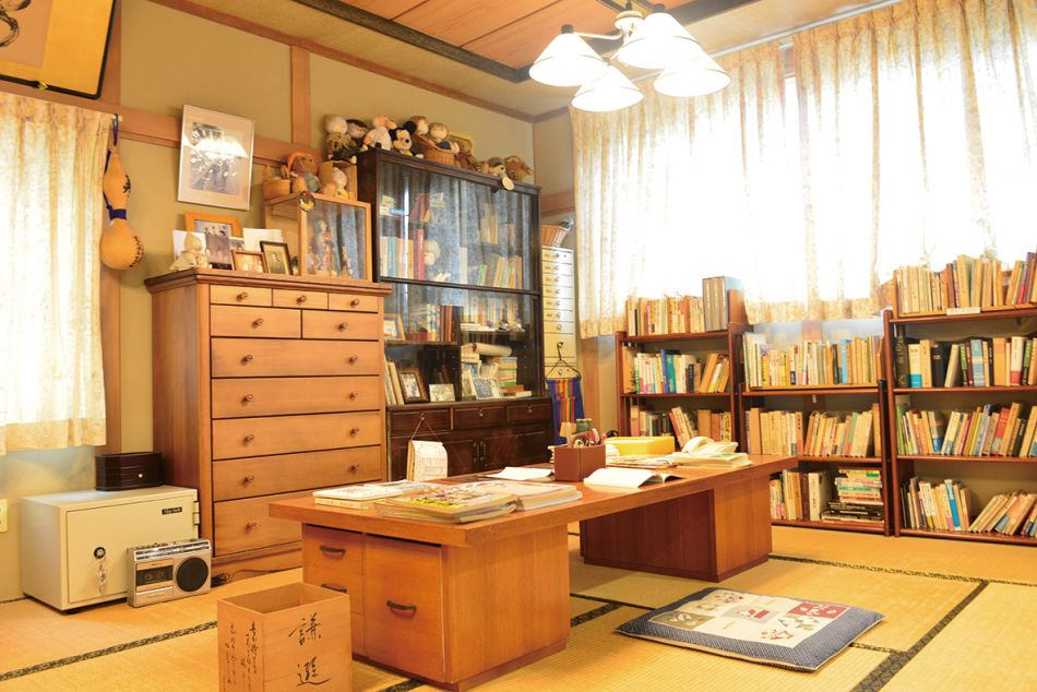 三浦綾子記念文学館 分館 口述筆記の書斎